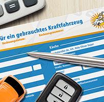 Kaufvertrag KFZ Autoankauf in Regensburg